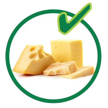 Organic recycling - dairy products are allowed.