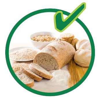 Organic recycling - grains and pasta are allowed.